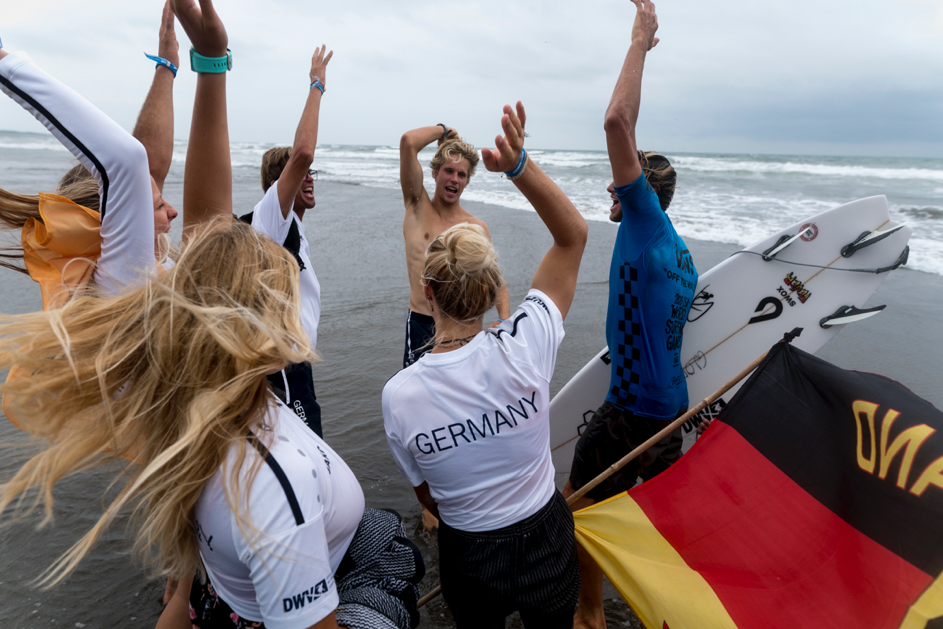 CONTEST: Surf Team Germany auf Platz 12 bei den ISA World Surfing Games 2019