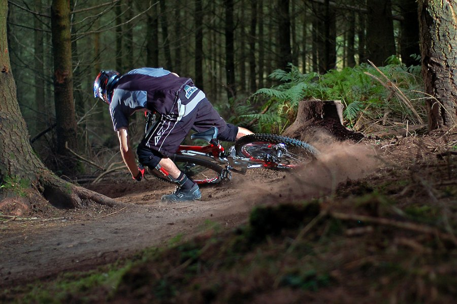 Getting loose, Jimmy Smith riding out at Triscombe in Devon.