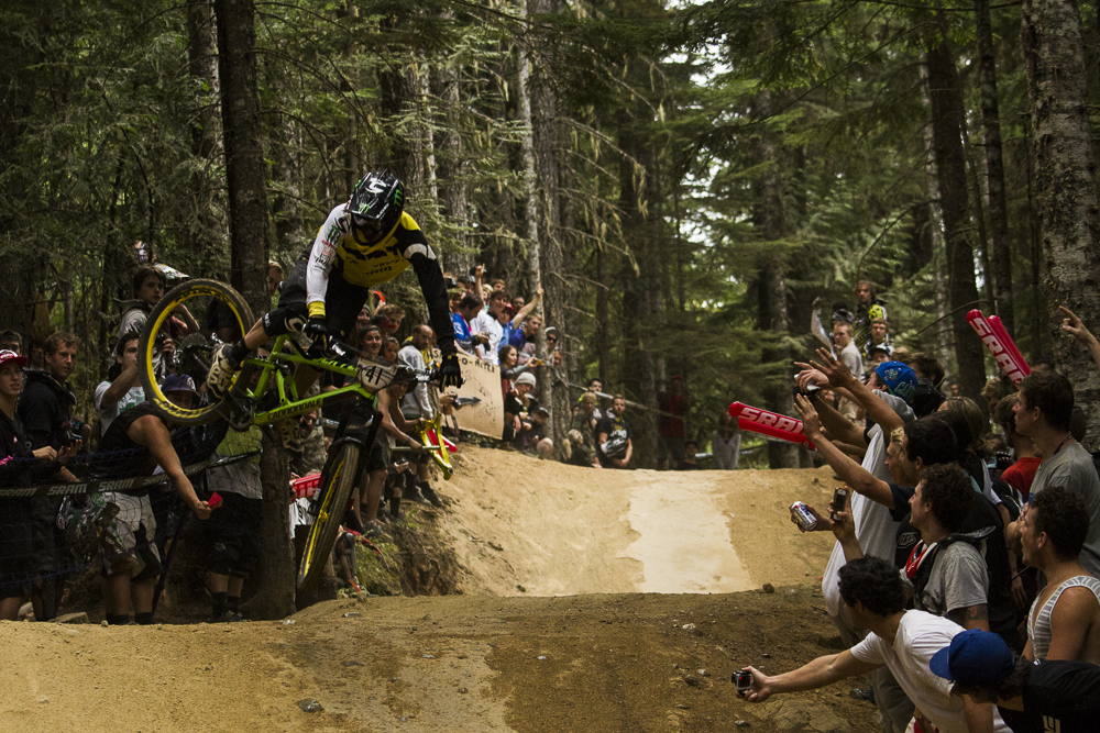 FOX Air DH race beim Crankworx Festival in Whistler