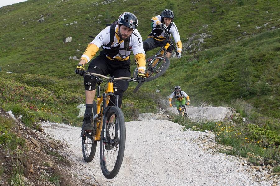 Marcel Lauxtermann belegt Platz 50 im Rennen.