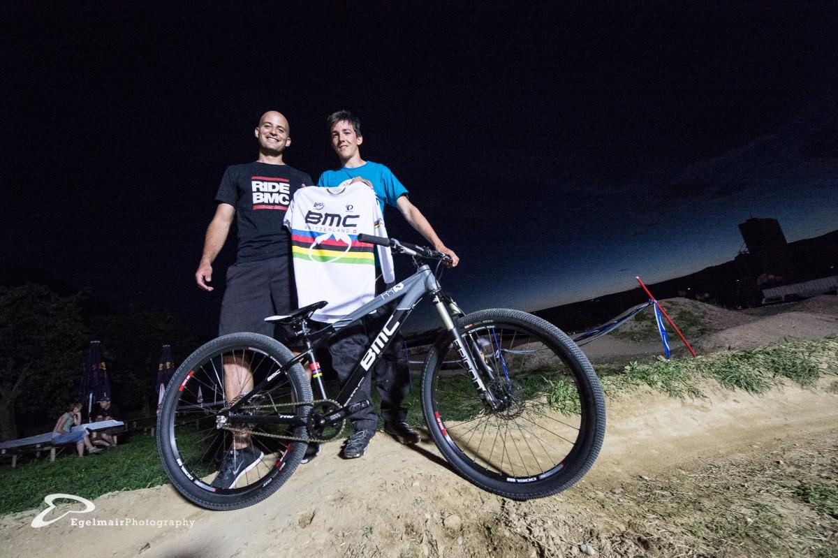 Für den talentiertesten Junior gab es ein BMC 4X-WM Replica Bike zu gewinnen: Der Titel ging natürlich an Jérôme Butti (Foto: EgelmairPhotography – Christian Egelmair)