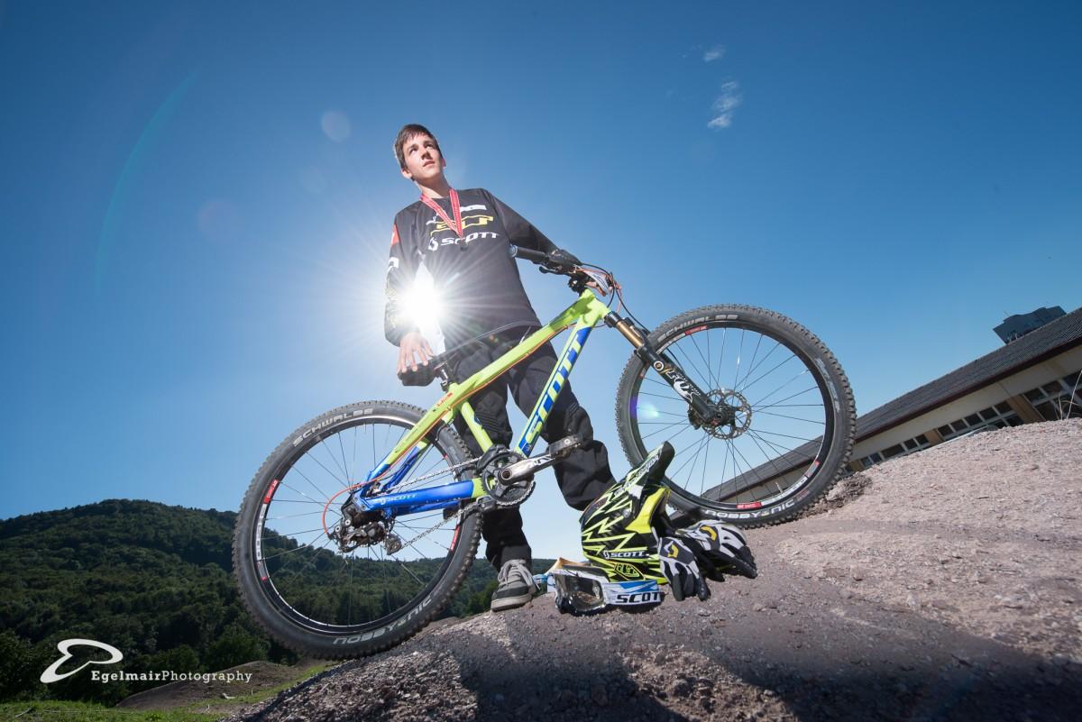 Der BMXer Jérôme Butti holt gleich in an allen 4 Rennen (U17 Kategorie) den Sieg (Foto: EgelmairPhotography – Christian Egelmair)
