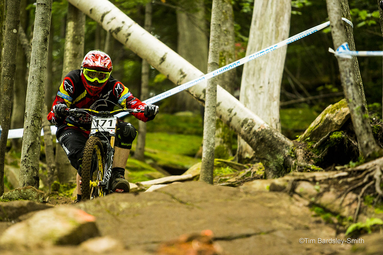 Team Hutchinson beim UCI World Cup in Sainte Anne