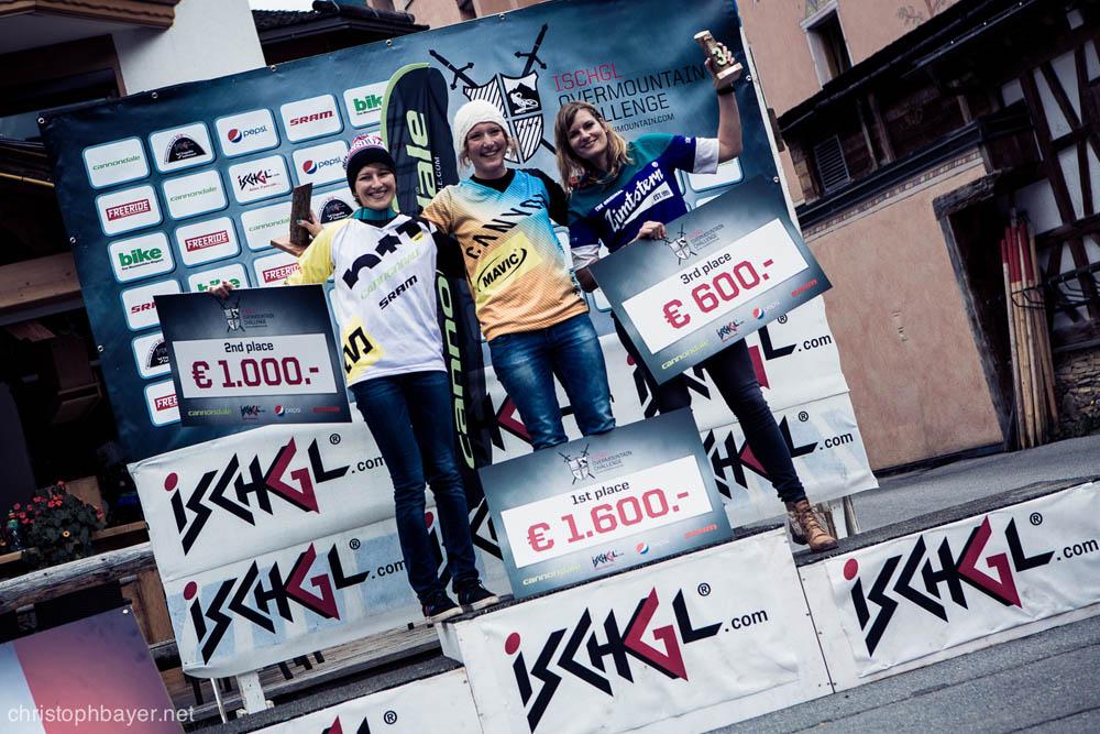 Siegerehrung der Damen  ©christophbayer.net