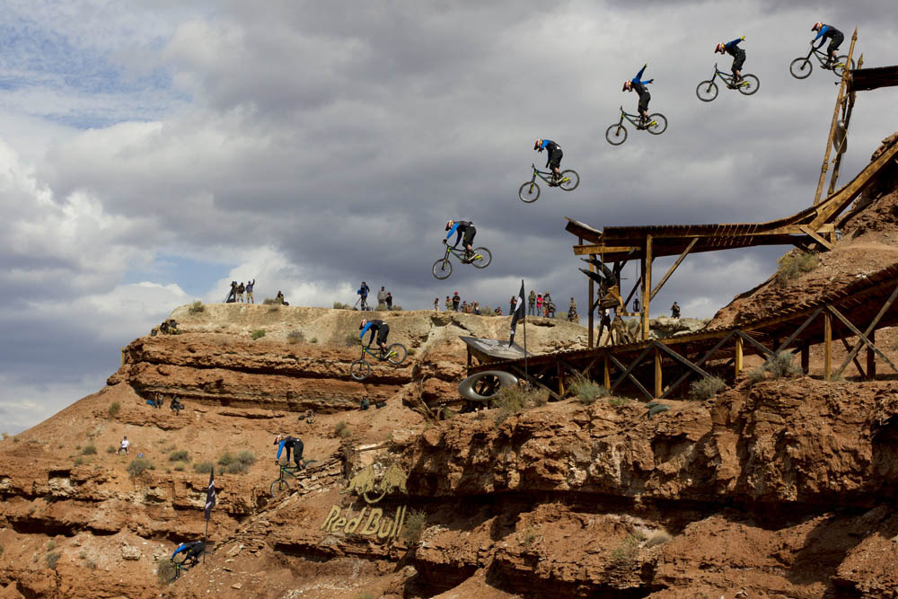 Kyle Strait wins Red Bull Rampage in Virgin, UT, USA on 13 October, 2013. // John Gibson/Red Bull Content Pool // P-20131014-00024 // Usage for editorial use only // Please go to www.redbullcontentpool.com for further information. //