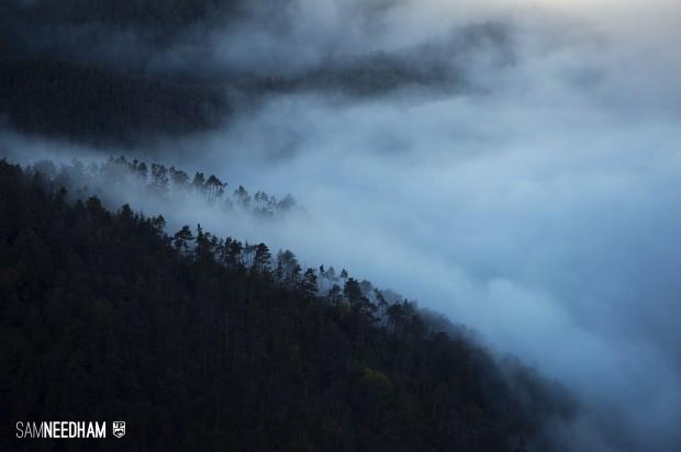 Nebelschwaden in der Provence