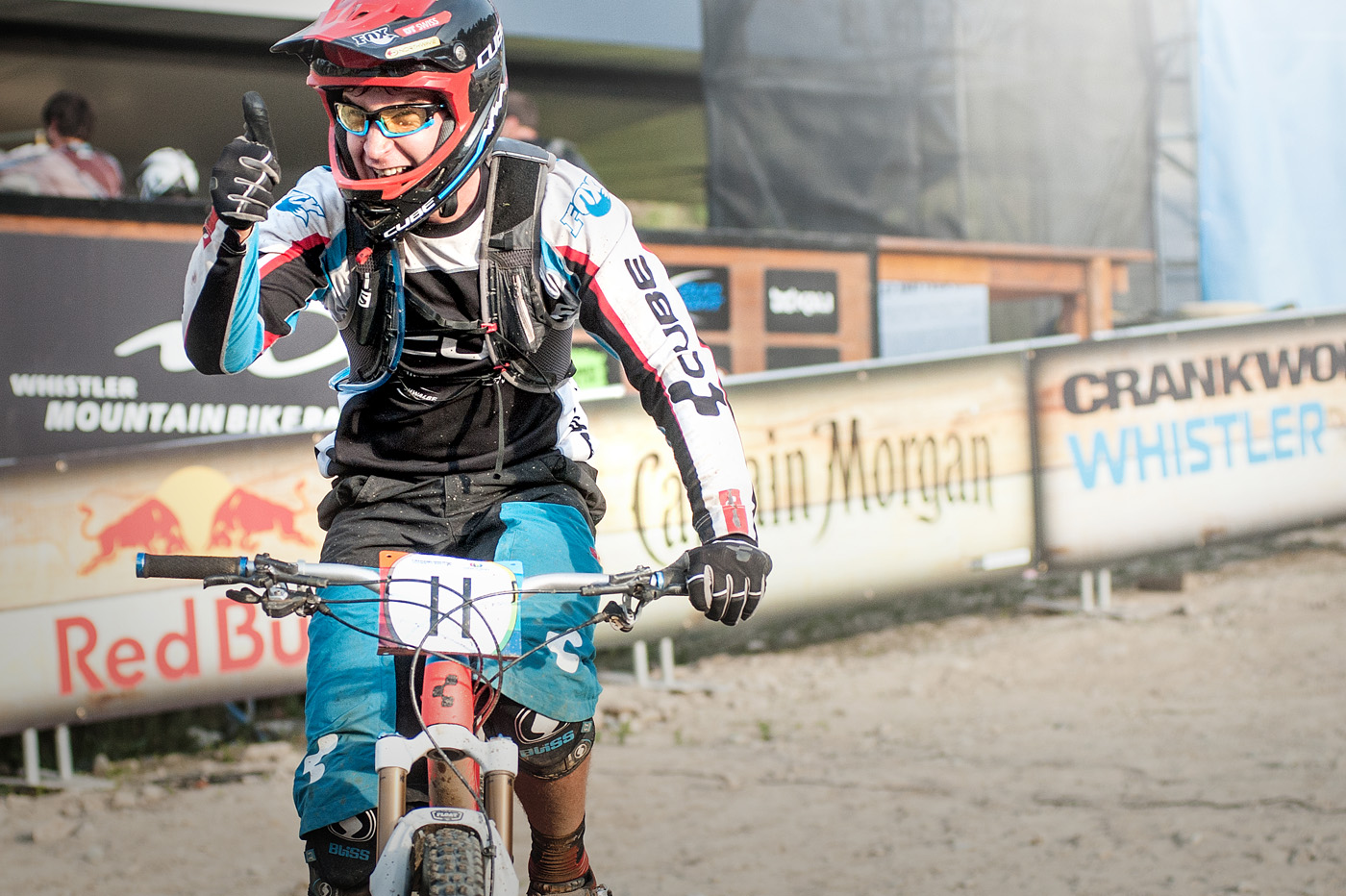 Nico bei der Enduro World Series Whistler