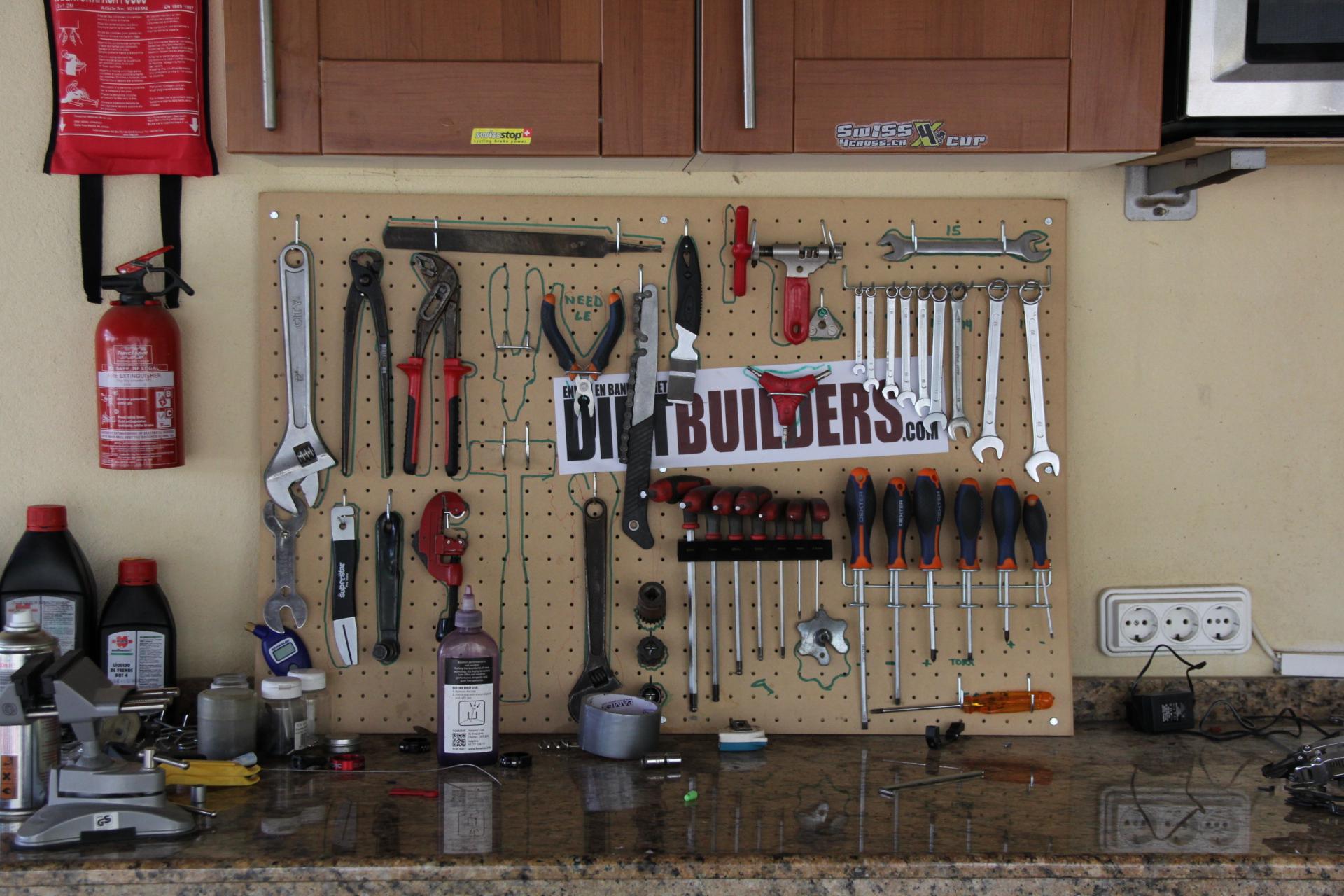 Die Openair-Bike-Werkstatt