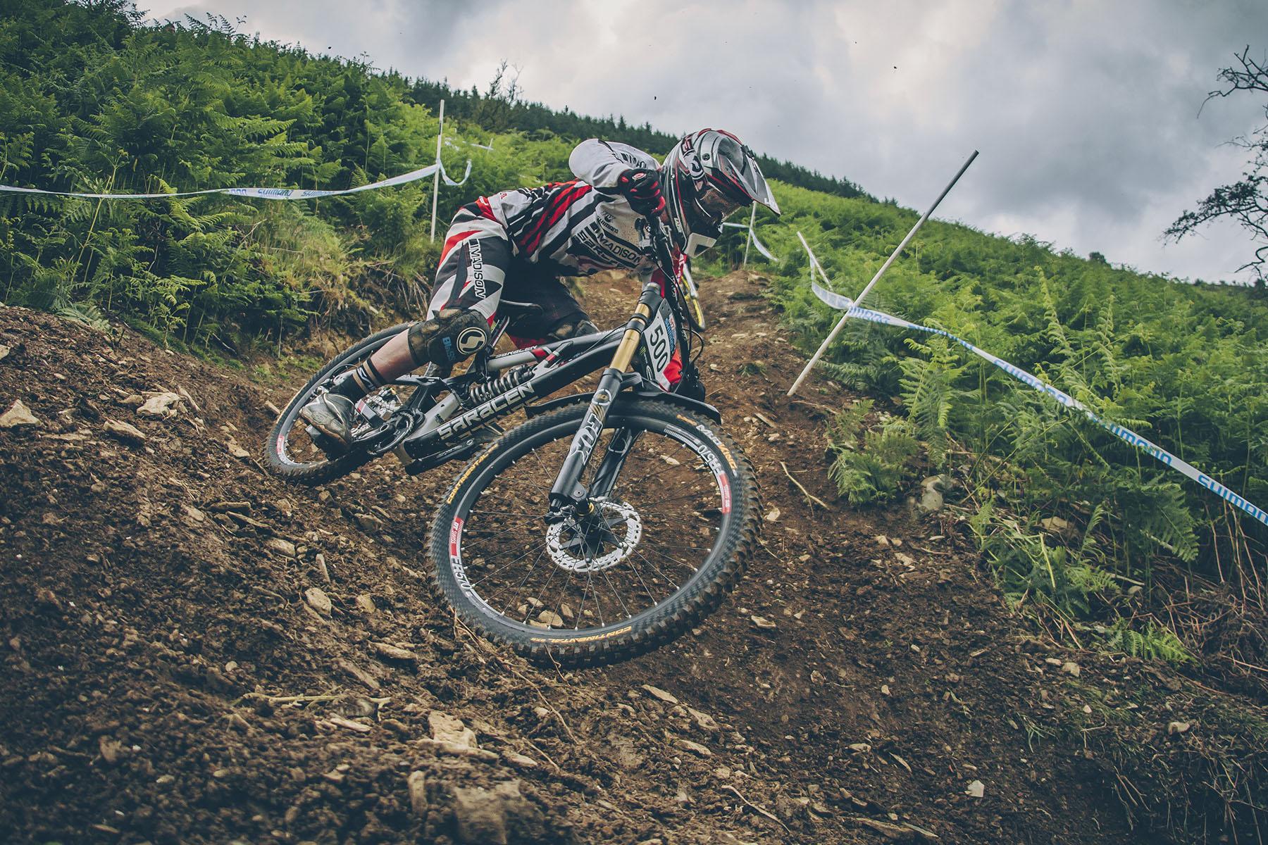 Manon Carpenter ist steile Strecken eigentlich gewöhnt, für den Sieg hat es vergangenes Wochenende aber nicht gereicht.