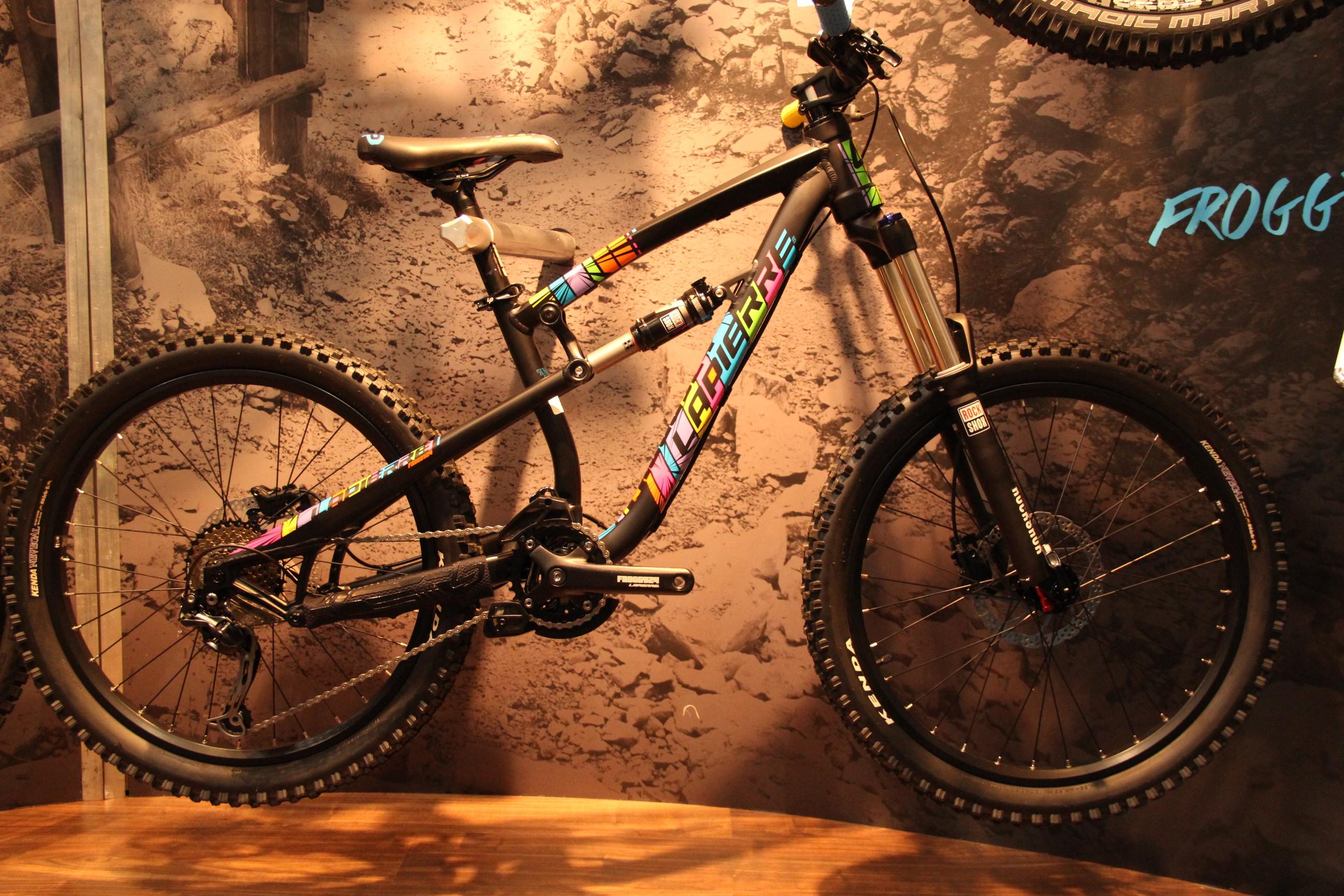 La Pierre Froggy 24, damit der Junior auch im Bikepark fahren kann! 24