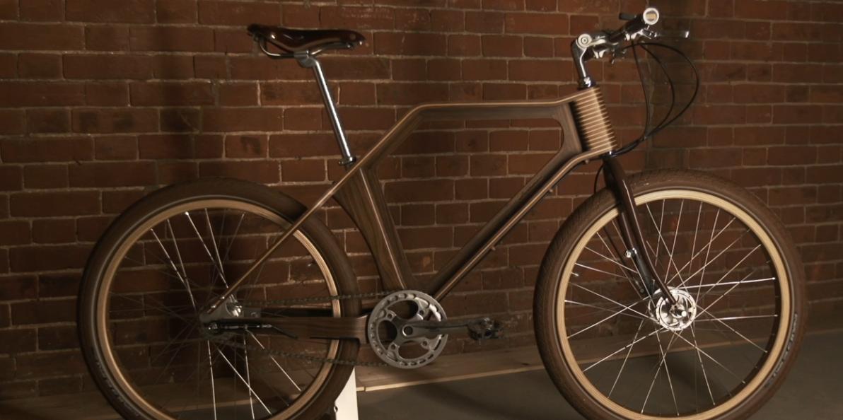 splinter bike ein fahrrad aus holz. Black Bedroom Furniture Sets. Home Design Ideas