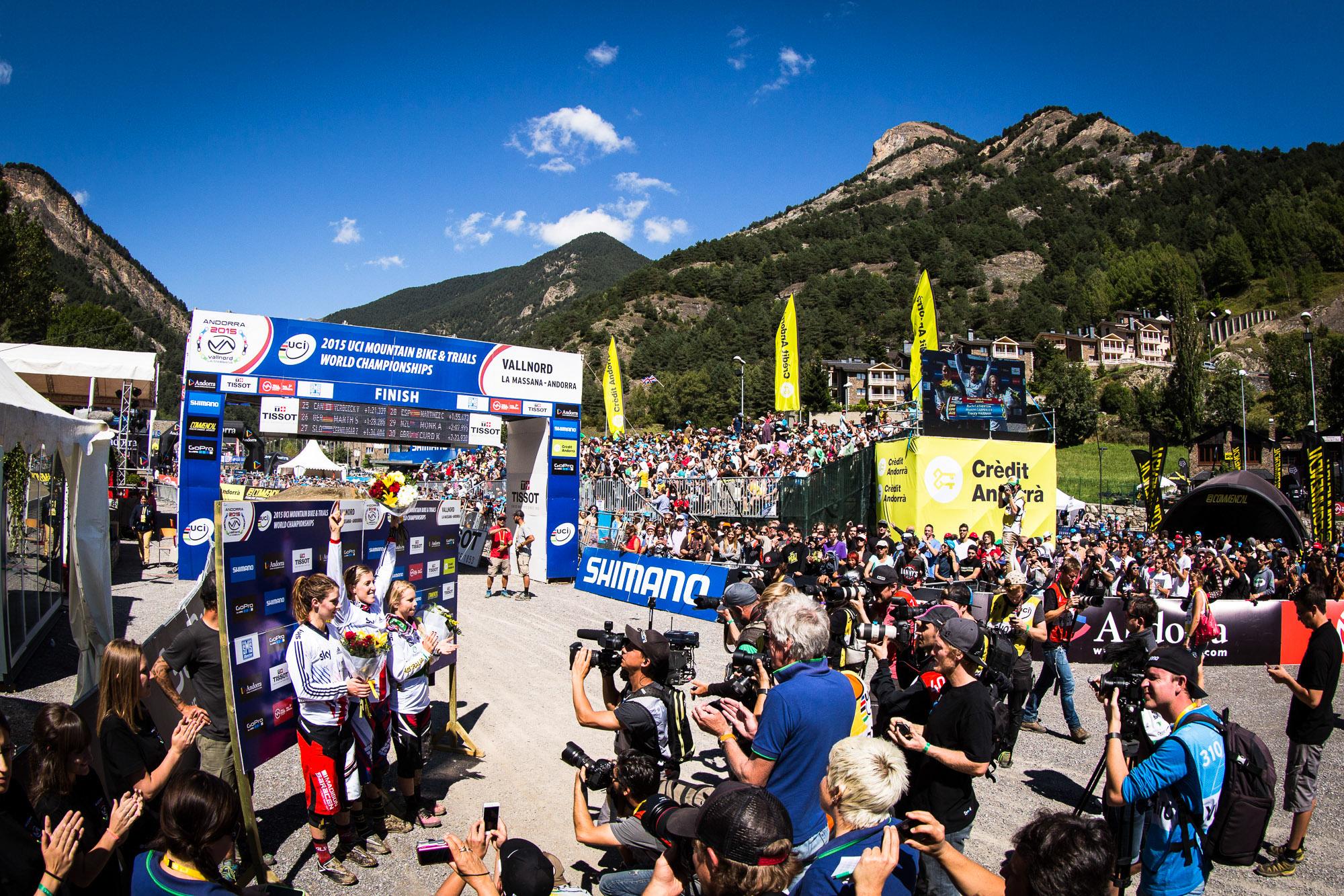 Downhill World Champs 2015 Andorra
