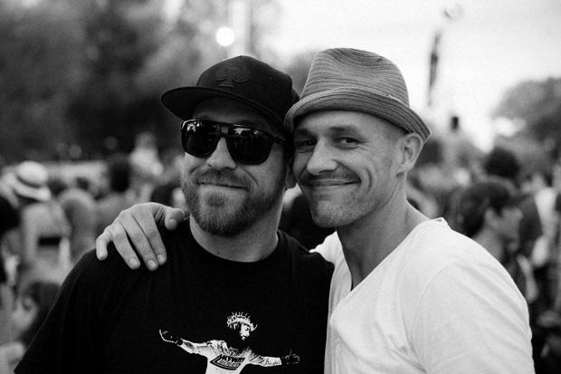 Diese Herren haben die Revolution der BMX-Industrie in zehn Worten parat: Alex Reinke und Flo de Neufville