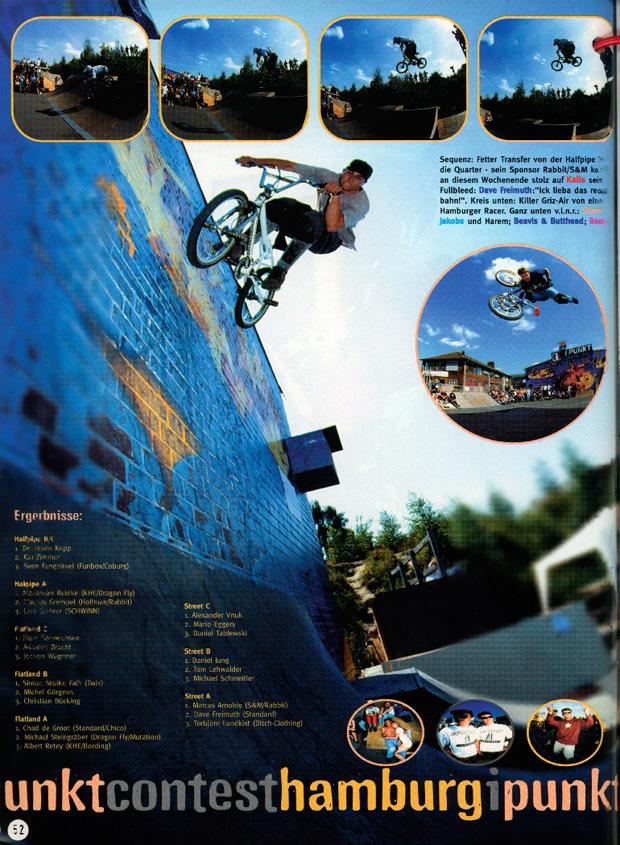 Ausgabe 9: Dave Freimuth an der Wand der alten I-Punkt-Halle
