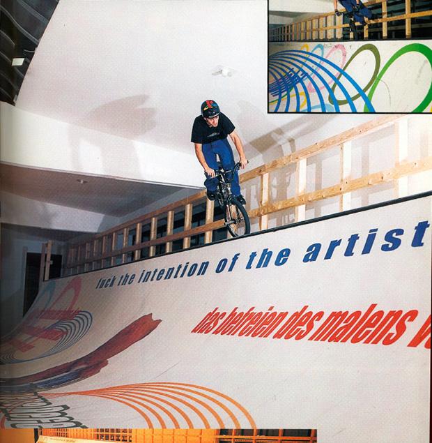 Ausgabe 38: Alex Bender hat die Intention des Künstlers nur insofern interessiert, weil er sie fahren konnte
