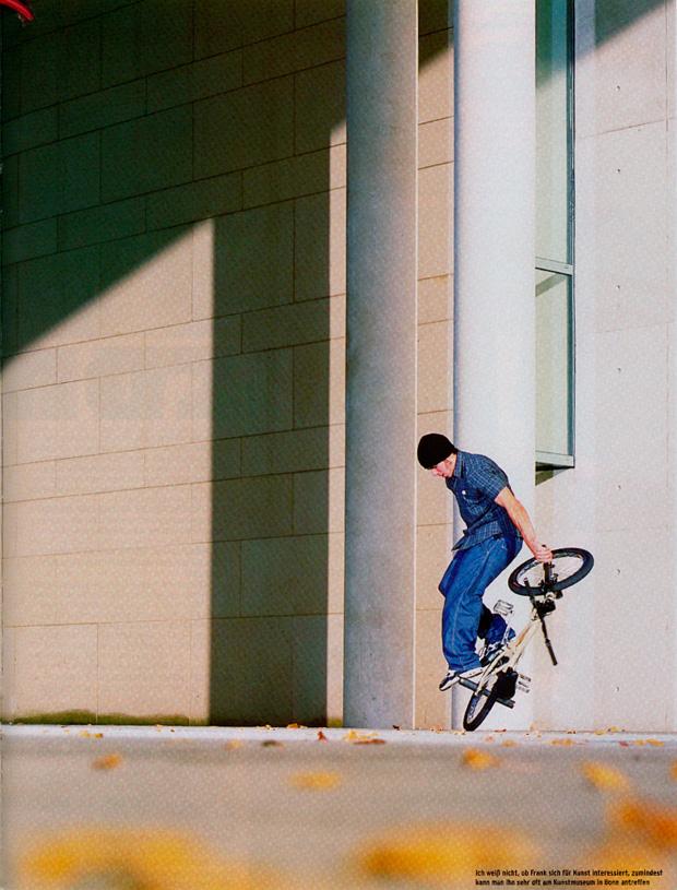 Ausgabe 43: Und auch Frank Lukas bekommt heute zwei Fotos. Bikevarial in Bonn