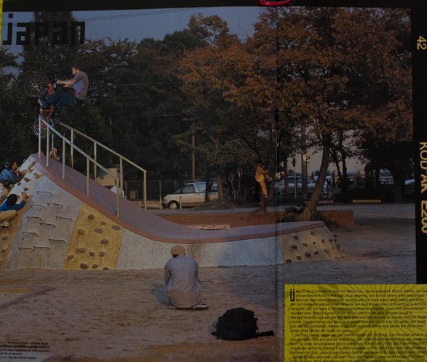 Ausgabe 44: Weltenbummler Sandy Carson in Japan