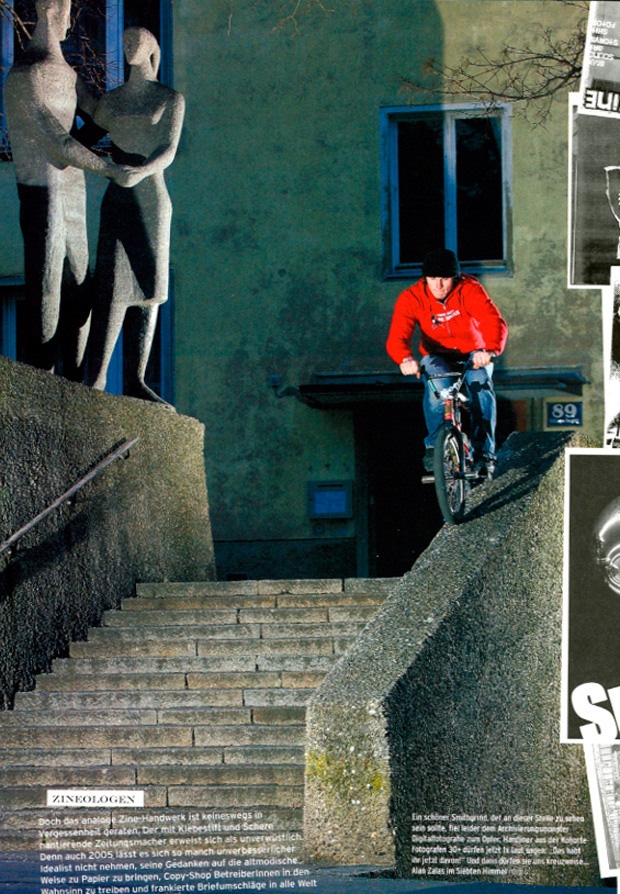 Ausgabe 62: Hallo Alan Zalas, fährst du eigentlich noch BMX?
