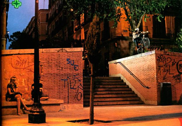 Ausgabe 96: Dakota Roche mit einem heftigen Manual in Madrid