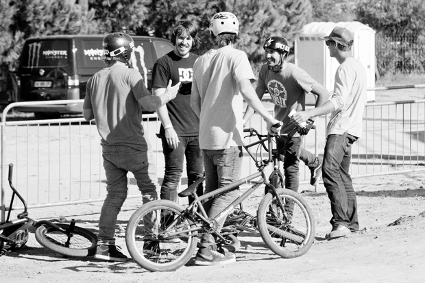 V.l.n.r.: Mike Clark, Kelly Bolton, Daniel Tünte, Josh Stead und Markus Hampl; Foto: Chris Dietschy