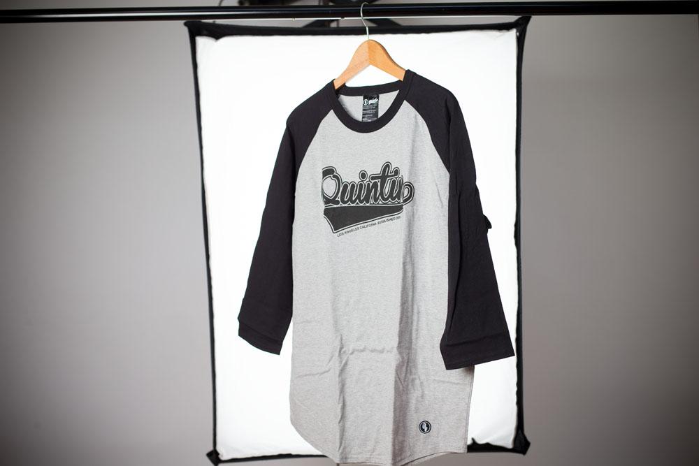 Quintin dreiviertel-Arm Shirt für den freshen Look.