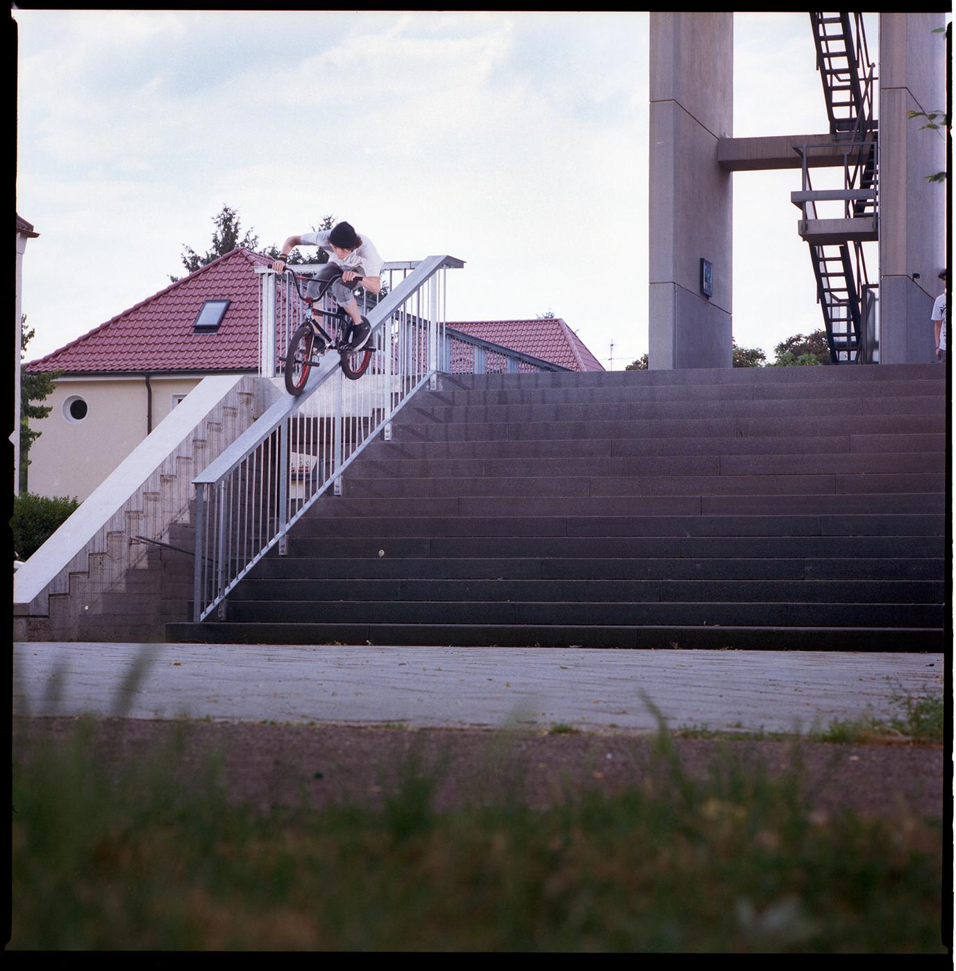Bruno Hoffmann Feeble Grind Rail