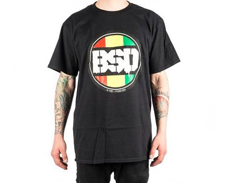 BSD 'Rasta Dot' Shirt, schwarz oder weiß, m-xxl, 27,95 €