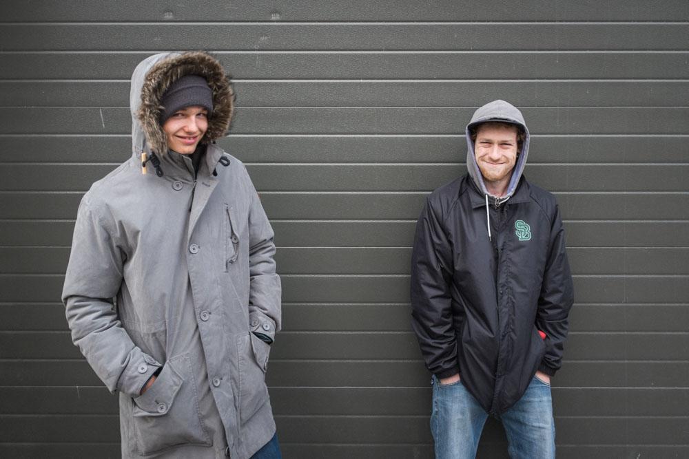 Team Ruhrpott freut sich über die importierten Schokopopps