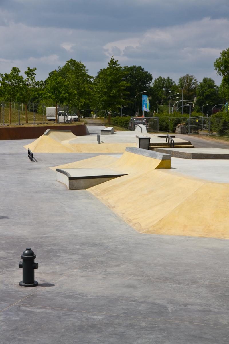 skatepark wolfsburg overview