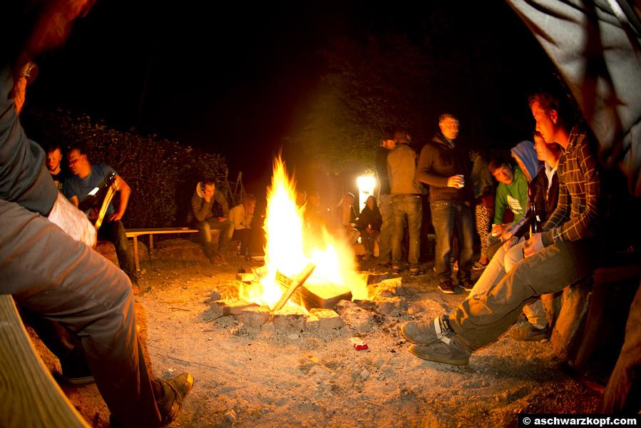 Aichwald Trails Jam Lagerfeuer