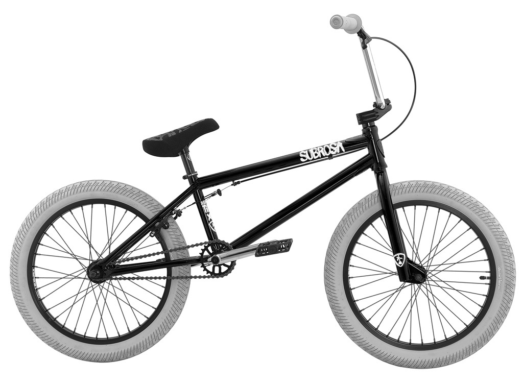Subrosa BMX Rad Tiro 2016 schwarz grau