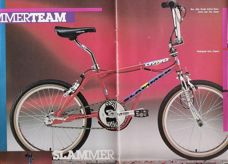 1990 kam ebenfalls der Dyno Slammer mit einem eingebauten Bashguard in die Läden.