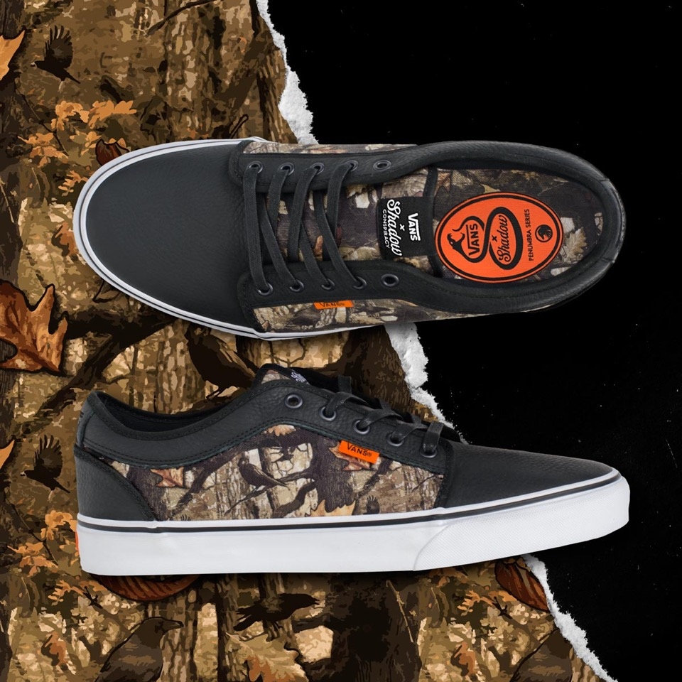 Vans X The Shadow Conspiracy Chukka Low Camo Pattern