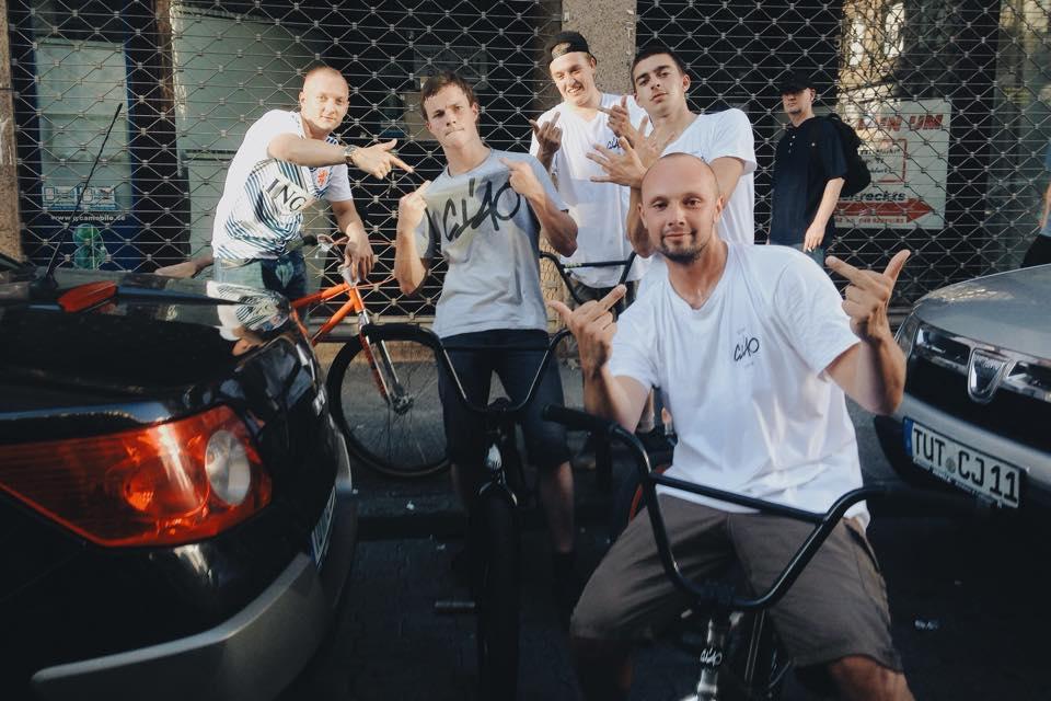 Olexesh Ciao Crew Videodreh Frankfurt