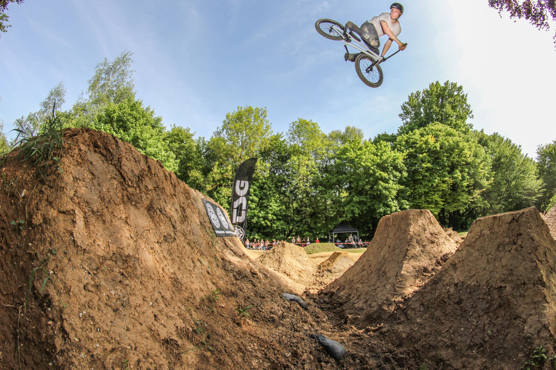Chris Halbritter auf dem Tourstart der Barons of Trails 2016 in Freising