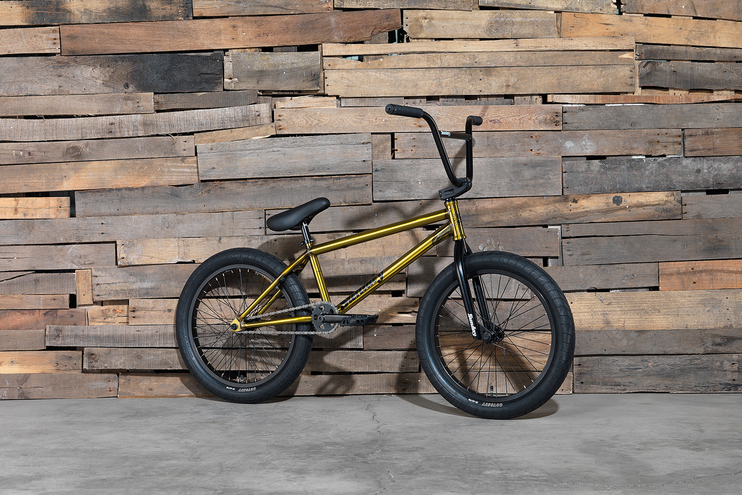 Chris Childs' Signaturerad von Sunday Bikes hat ein 20,75