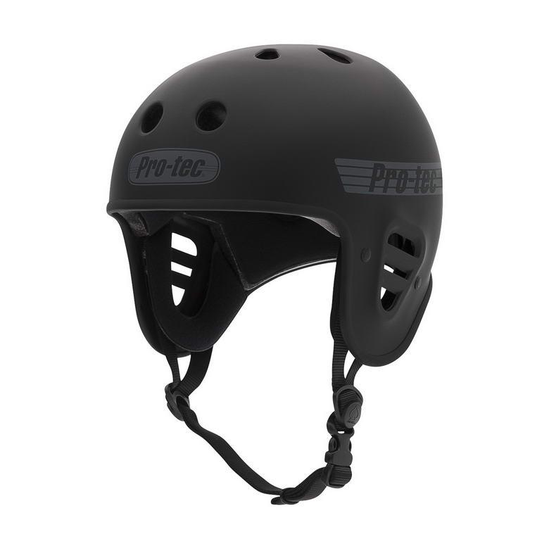 Der Pro-Tec Fullcut Helm in zeitlosen mattschwarz