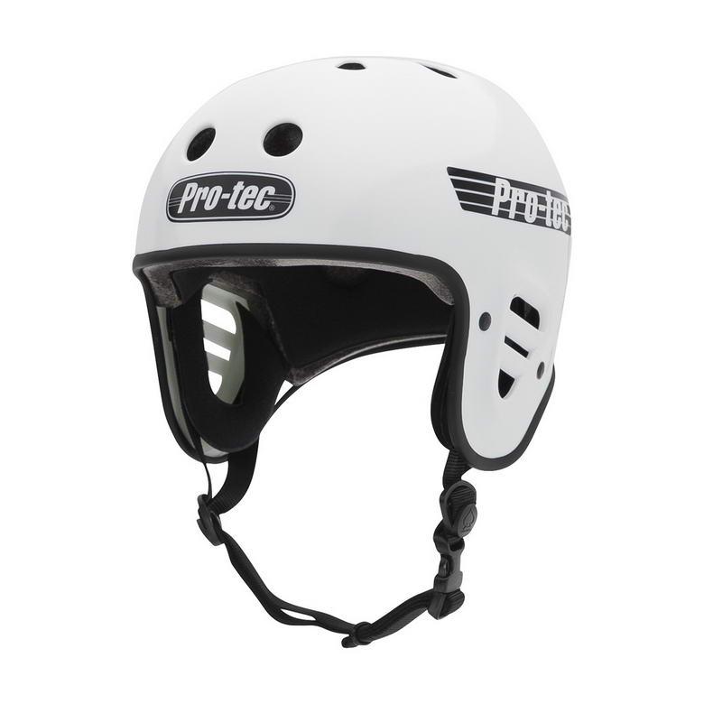 Der Pro-Tec Fullcut Helm in weiß