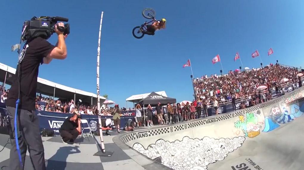 Das Highlightsvideo vom Vans BMX Pro Cup in Huntingt...