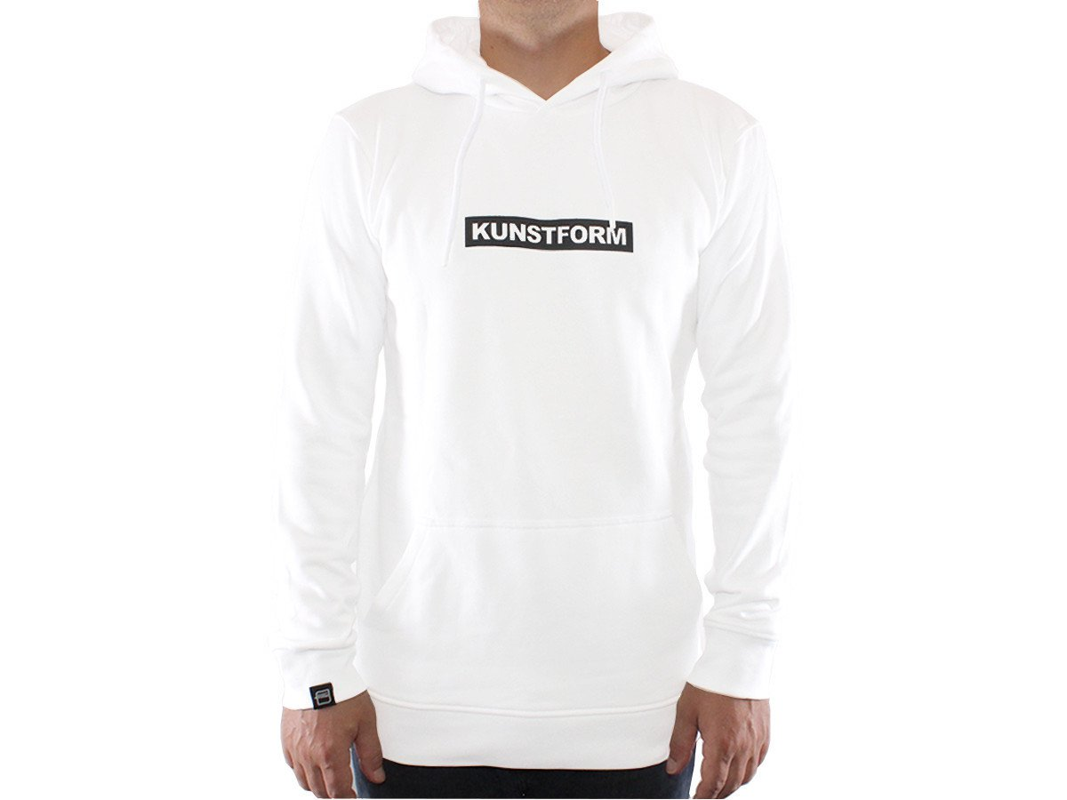 kunstform BMX Team Hoody in weiß