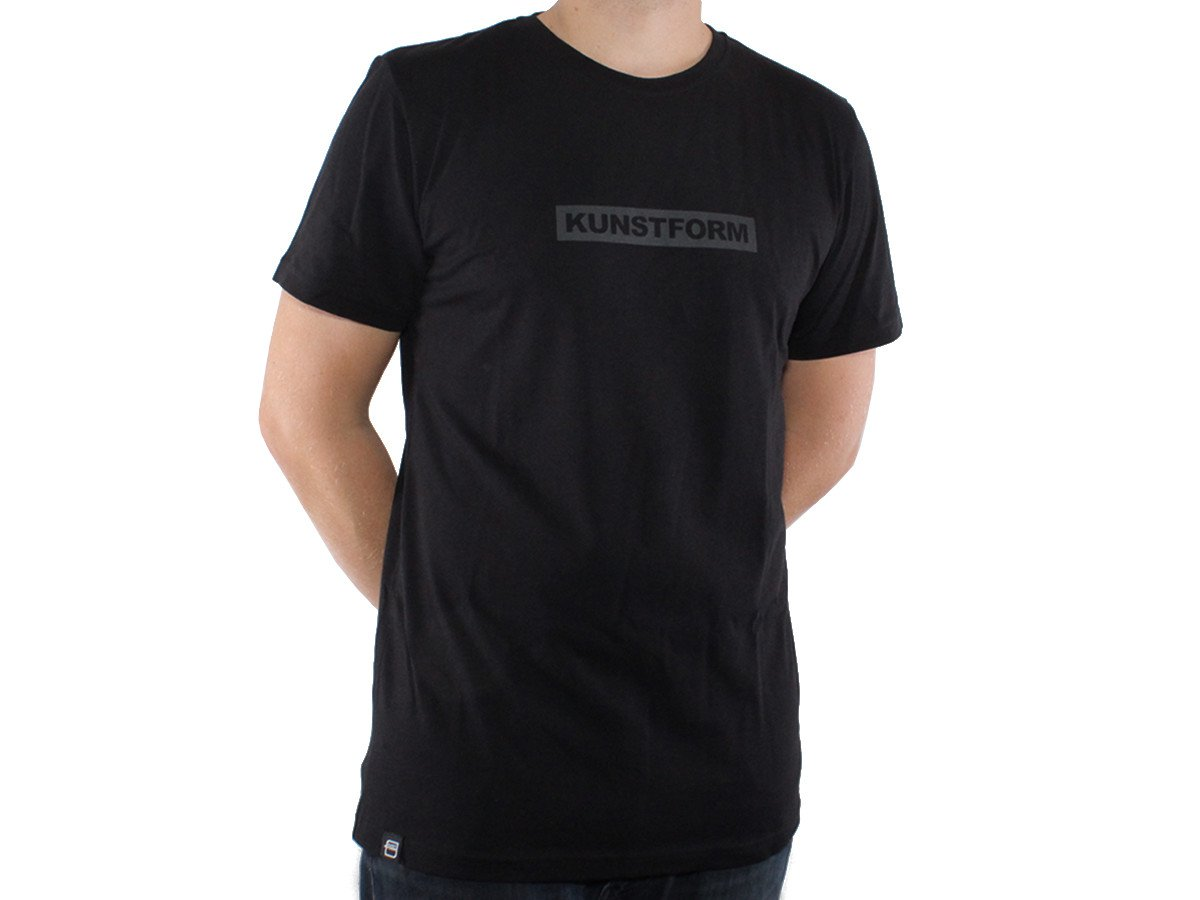 kunstform BMX Team T-Shirt in schwarz