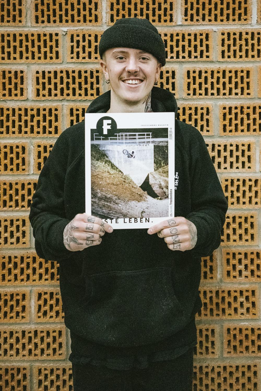 Felix Prangenberg hat das Cover unserer Jubiläumsausgabe abgestaubt und