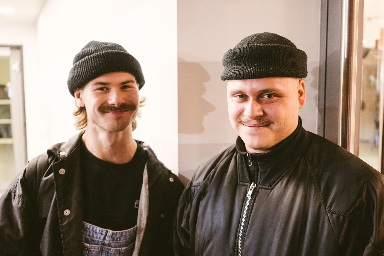 Felix Donat & der Mann mit der schönsten Jacke des Wochenendes: Martin Wintermantel