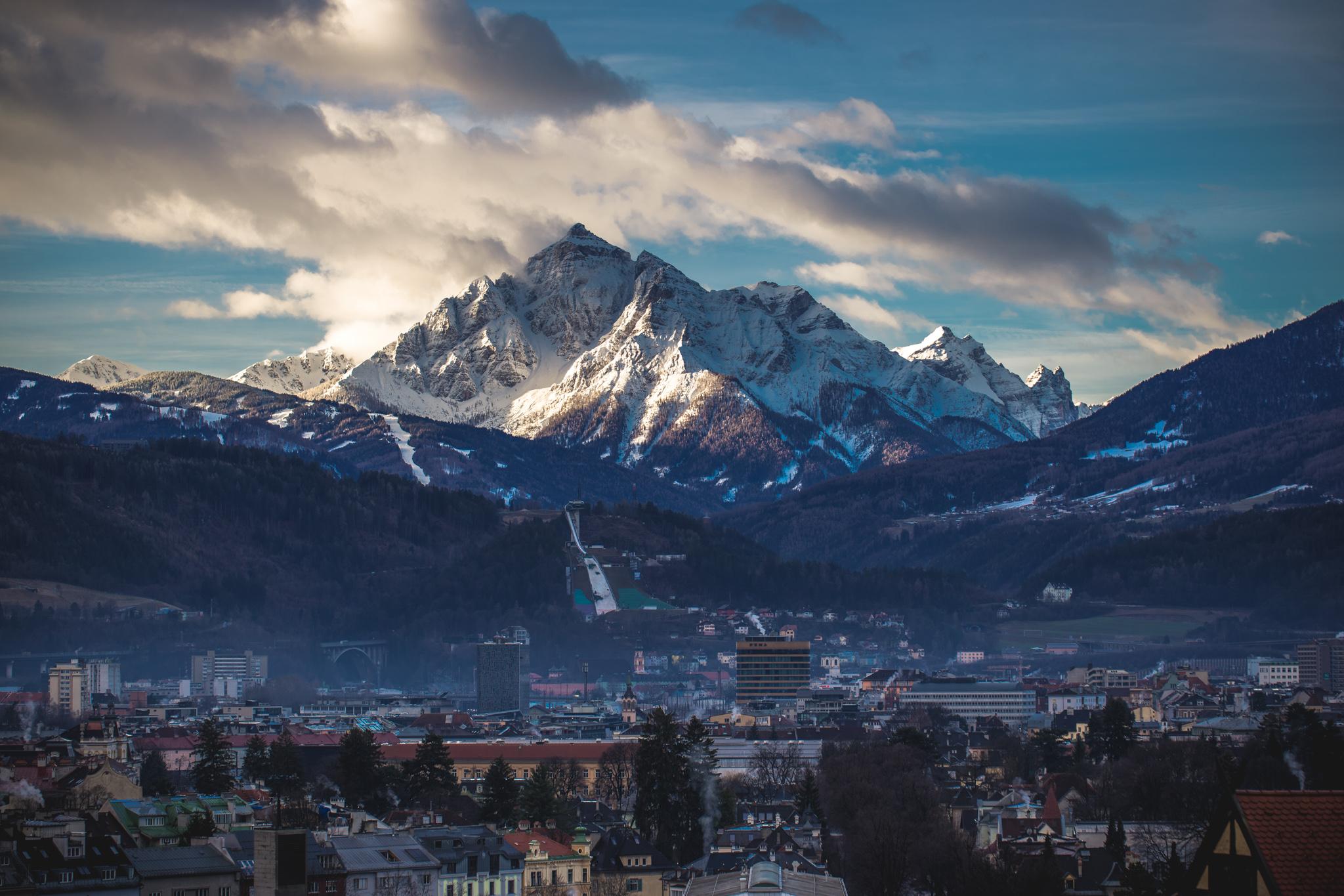 Die 20inch Trophy ist im wunderbaren Innsbruck zu Hause. Hier kannst du an einem Tag erst Snowboard fahren, dann eine Runde Downhill shredden und am Abend in der Skatehalle BMX fahren