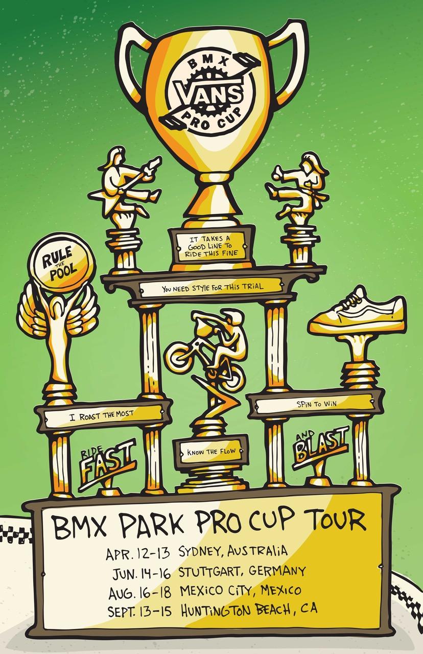 Der VANS BMX Pro Cup vom 12.-16. Juni in Waiblingen ...