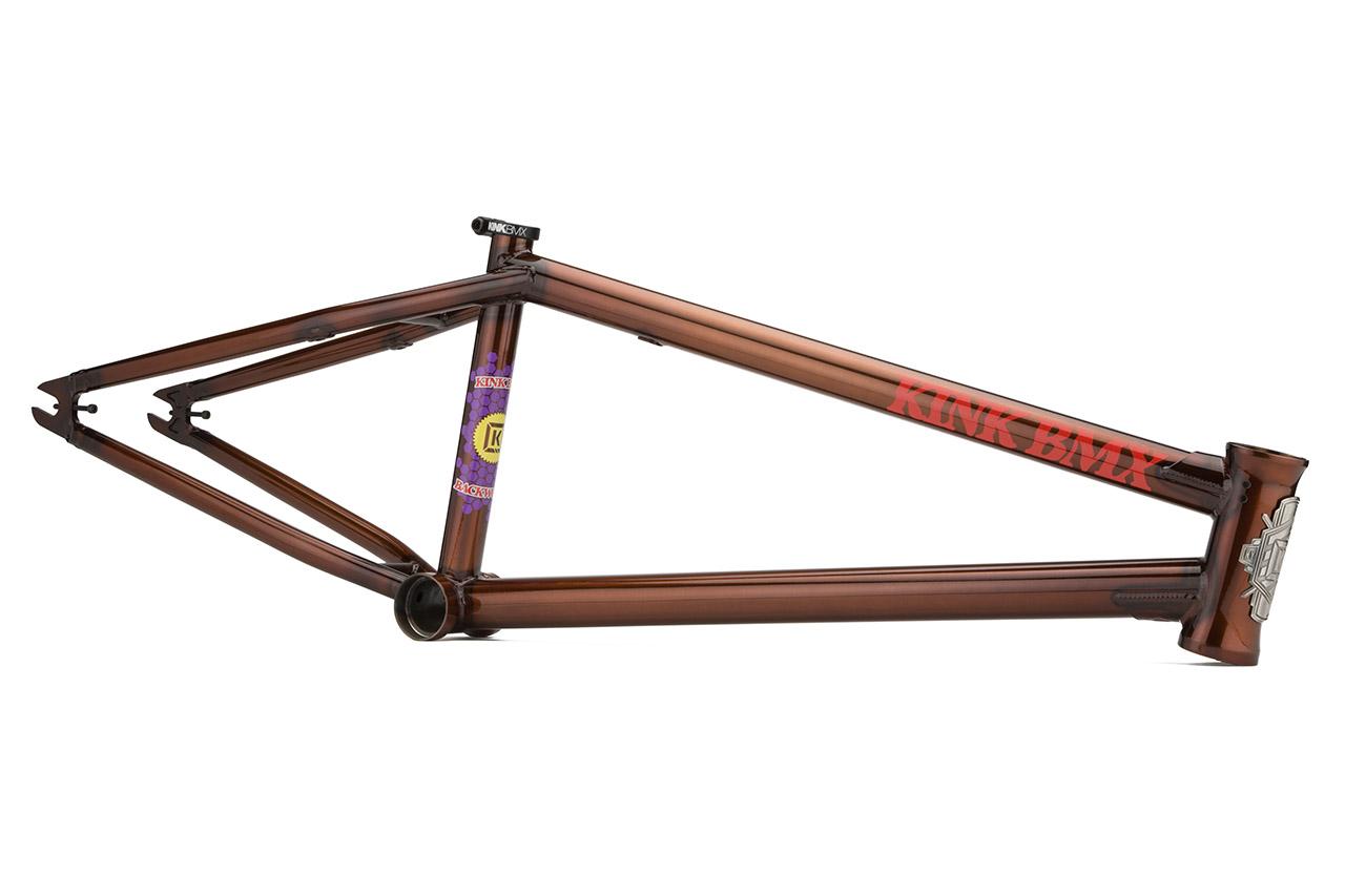 Kink BMX Backwoods Frame in braun