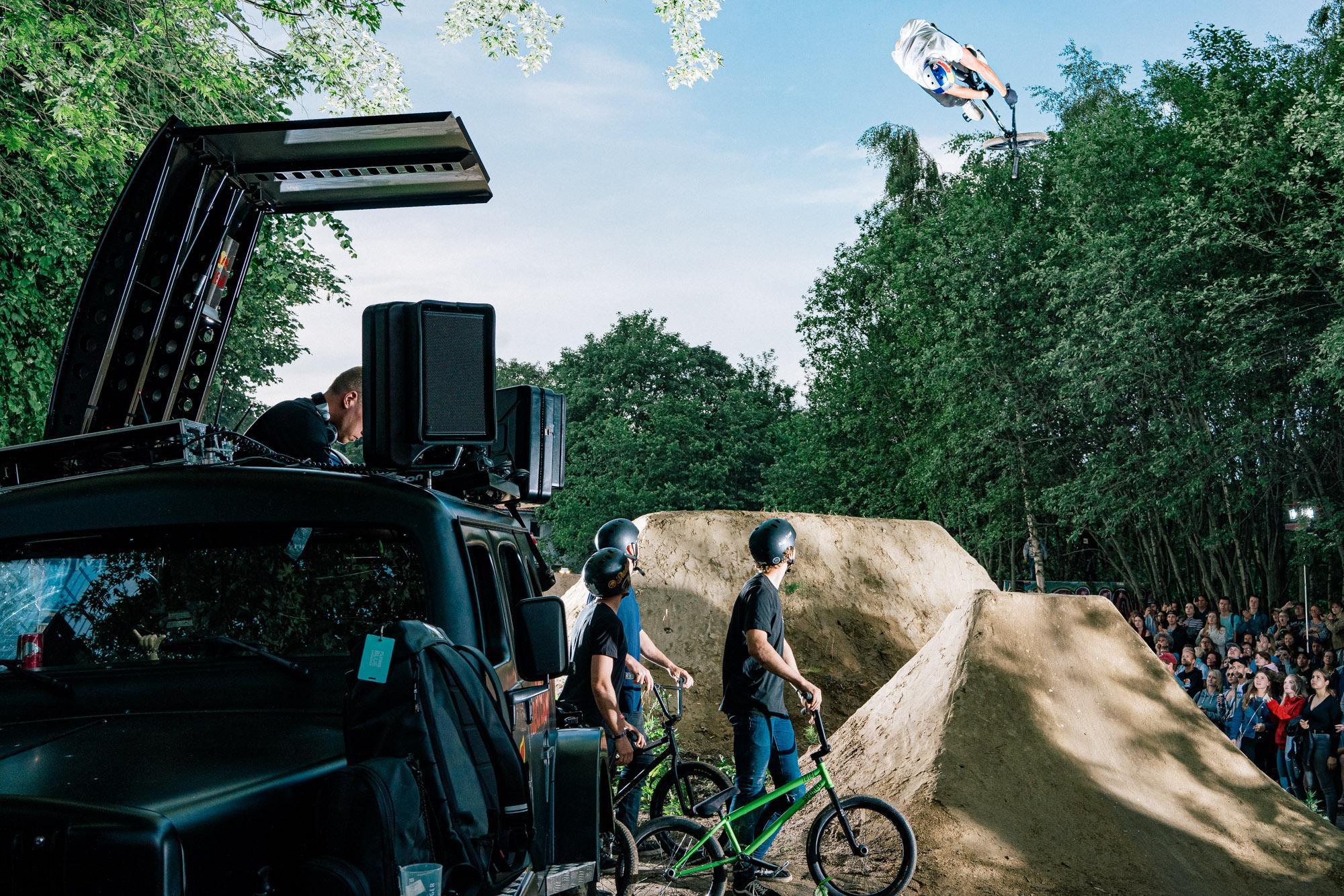 #soundnichtanders: Paul Thölen mit einem 360 Toboggan