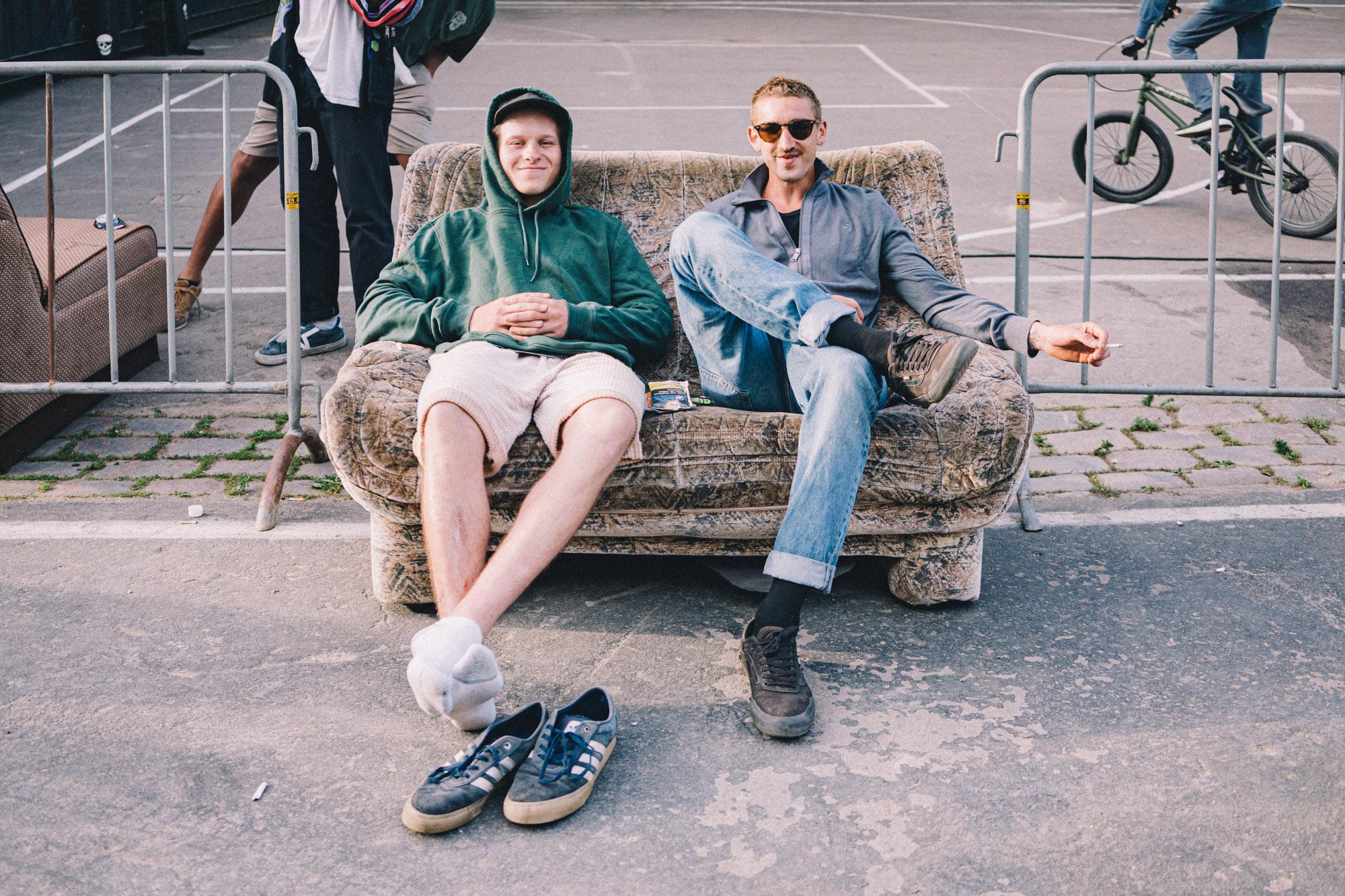 Felix Stinshoff (links) und Jan Mihaly
