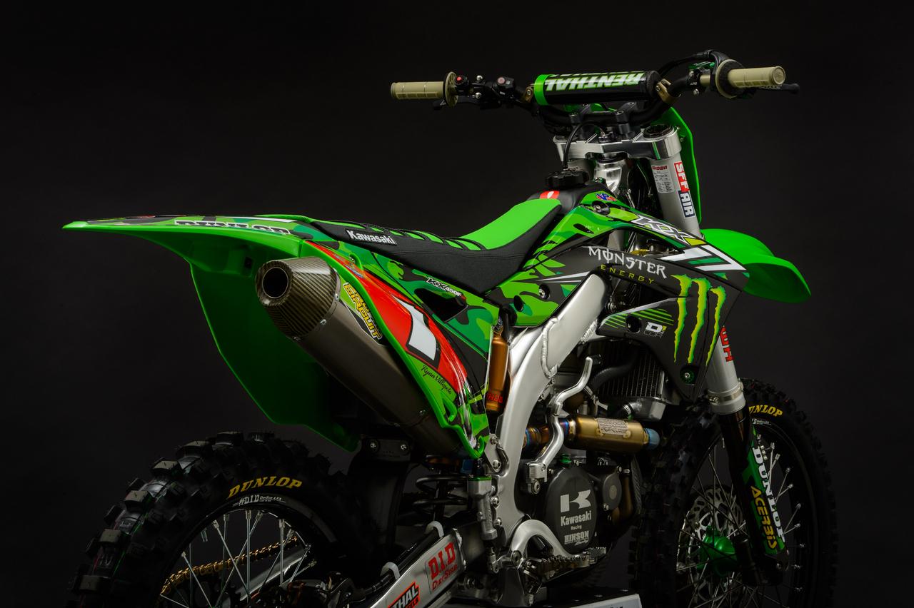 Kawasaki Kxf Monster Energy Edition