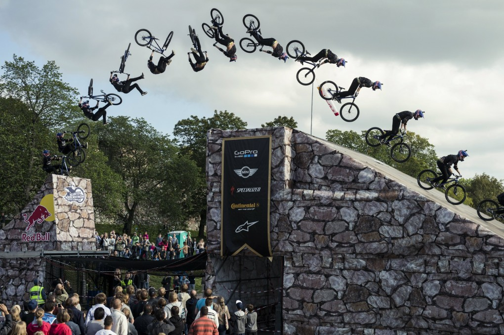 And the Winner is...Anton Thelander; Foto: Red Bull
